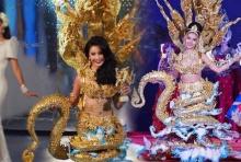 ดาวล้านดวง!!ชุดนางพญานาคีจาก ลาว คว้าชุดประจำชาติยอดเยี่ยม Miss International Queen!!