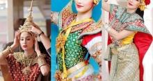 ใครปังสุด!? มาดู 5 นางเอกดัง ในชุดนางรำ งดงามจนละสายตาไม่ได้!
