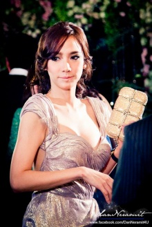 อั้ม พัชราภา ในงานแต่งนาเดีย-คุณภิ