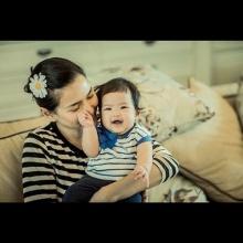 อัพเดตภาพน้องนาวา-วัย 5 เดือน น่ารักแก้มยุ้ยเชียว!