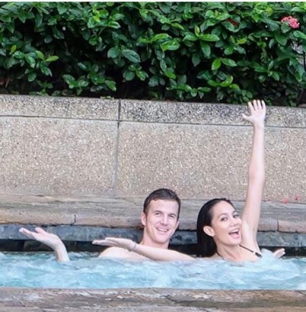 ยังไหวอยู่!? ชามใส่ชุดว่ายน้ำชุดเดิม เมื่อครั้งไปประกวดมิสยูนิเวิร์สอีกครั้ง!!