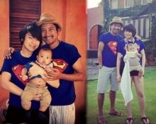 Pic : ครอบครัวสุขสันต์ พ่อหนุ่ม - แม่ฝ้าย พาน้องอันดาเที่ยวเขาใหญ่