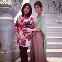 Pic : มิ้น ชาลิดา กับชุดไทย สวยงามมาก
