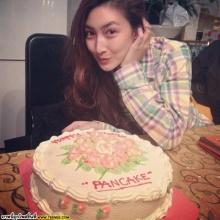 Pic : แพนเค้ก เขมนิจ ลัลล้า ณ ต่างประเทศ