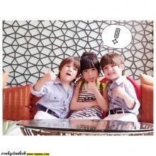 อัพเดทภาพ น้องอันดา กับฝาแฝดจอมแสบ เฮเดน - โจชัว