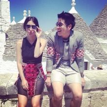 อาเล็ก มิว  กับเบื้องหลังแฟชั่น Honeymoon+Travel
