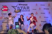 นิชคุณกับบรรยากาศงานMitsubishi Mirage Be More Star Search(2)