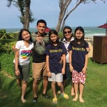 อบอุ๊น อบอุ่น !! ซิโก้ เกียรติศักดิ์ ควงครอบครัว เที่ยวพักผ่อนชิล ๆ