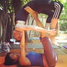 สไตล์การออกกำลังกายแบบ นางสาวไทย ป๊อบ อารียา