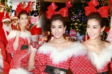 น่ารักไปอี๊ก!! มิ้นต์ ชาลิดา ในชุดแซนดี้เข้าธีมคริสมาสดี๊ดี
