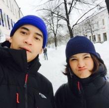 ฟรอยด์-แพรว ควงคู่ท้าหนาวที่มอสโก มุ้งมิ้งท่ามกลางหิมะโปรย