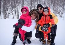 ช่วงนี้กำลังฮิต..ตามไปเล่นหิมะกับครอบครัวเวย์ - นานา กันจ้า