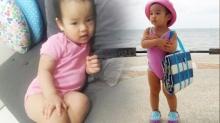 เด็กคือเด็ก น้องวันใหม่ ลูกพ่อสงกรานต์-แม่แอฟ แจกความน่ารักมุ้งมิ้งสดใส