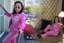 สดชื้น สดชื่น!! กับ เสื้อ-ผ้า สีชมพู ของ ซูซี่ หทัยเทพ!!