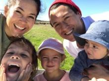 รวบภาพน่ารักอบอุ่น พอลล่า-เอ็ดเวิร์ด พาลูกๆเที่ยวออสเตรเลีย