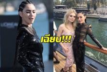 ใหม่เฉิดฉาย เดินแบบงาน Paris Fashion Week 2018