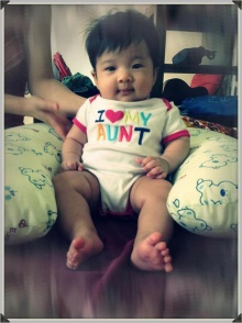ภาพปัจจุบันของเจอาร์และลูกชายน้องจูโน่
