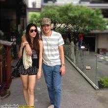 อัพเดทภาพคู่รัก คู่หวาน ชาคริต - วุ้นเส้น