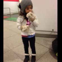 Pic ลียา ลูกสาวธัญญ่า ลัลล้า ณ เมืองนอก