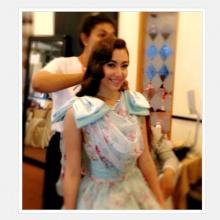 Pic: สาวๆแห่งวัง จุฑาเทพ รวมตัวสวย งานครอบครัวข่าว 3