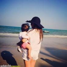 Pic: ตามครอบครัวสุขสันต์ บีน่า - บรู๊คลิน เที่ยวทะเลกันจ้า!!
