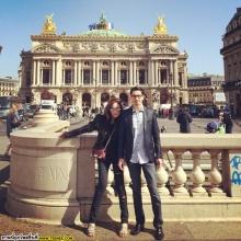 pic::พลอย เฌอมาลย์  หวาน จอห์น ถึง ปารีส เลยจ้า!