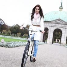Pic : คิมเบอร์ลี่ สดใส น่ารัก ณ ต่างแดน