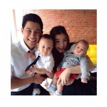 Pic : ส่องความน่ารักน้องคิรินลูกพ่อกาย - แม่ฮารุ