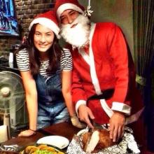 น่ารักไปมั้ย !! หลุยค์ แต่งซานตาครอส เซอร์ไพร์ส นุ่น รมิดา