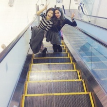 Pic : อุ้ม - จียอน 2 สาวสุดเซ็กซี่ กับทริปลัลล้า ณ เกาหลี