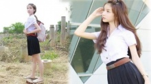 ว้าวว!!! น้องโยชิ ในชุดนักศึกษาสาว ประจักษ์แล้ว!!! เธอเกิดมาเพื่อฆ่าผู้หญิงจริงๆ