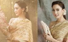 งดงามดั่งเจ้าหญิง ! แต้ว ณฐพร กับชุดไทยสุดเลอค่า