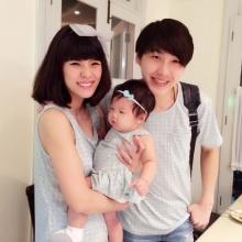 โด่ง - ออม โชว์ความน่ารักลูกสาวสุดน่ารัก น้องไอมิจัง