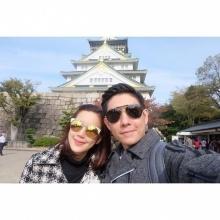 บอย - เจี๊ยบ ควงเที่ยวญี่ปุ่นสุดหวาน