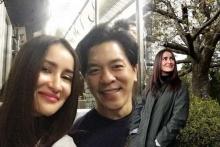 แอน ทองประสมหนีร้อน แอบไปหวานเอแฟนหนุ่มถึงญี่ปุ่น