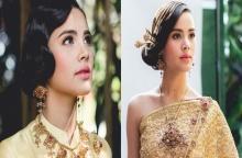 ญาญ่า อุรัสยา สวมชุดไทยสุดเลอค่า สวยหวานราวกับนางในวรรณคดี