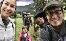 น่ารักมาก! พอลล่า-เอ็ดเวิร์ด พาลูกๆเดินป่าเรียนรู้ธรรมชาติที่อังกฤษ!