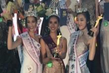 ปรบมือดังๆ นางงามไทย มงลง ชนะที่ 1 Miss China Asean Etiquette Pageant