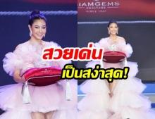 """สวยเด่นขโมยซีน!  ส่องลุคส์ """"นิโคลีน"""" ในเวทีประกวด """"Miss Thailand World 2019"""""""