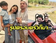 ธีมพ่อแม่ลูกป่ะ!? แพท-โอ๊ต สวมชุดไทยควงออกงาน ชาวเน็ตแซว นึกว่างานแต่ง