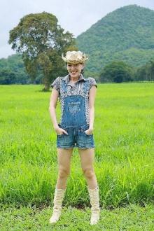 สาวหมวย ได๋ ไดอาน่า แบบสาวฟาร์ม