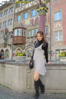 Pic : โบวี่ น่ารัก ๆ in Switzerland!!