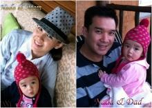 ภาพอบอุ่นของน้อง ณดา และ พ่อบรู๊ค - แม่กบ