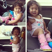 Pic : อัพเดท น้องยี่หว่า ลูกสาวสุดน่ารักของ บร๊ะเจ้าโจ๊ก
