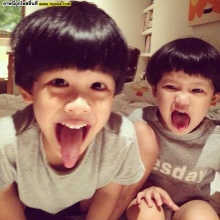 อัพเดทความน่ารัก น้องคุน - น้องจุน