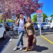 pic::โดม ปกรณ์ ลัม ลั๊นลา ควง เมทัล,คุณแม่เที่ยวนิวซีแลนด์