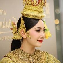 Pic : นุ่น วรนุช กับชุดไทยสวยงาม เลอค่าฟุดๆ