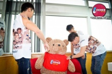 นิก,บิว,เทป ในมุมน่ารักกับพี่หมีที่นี่ดอทคอม