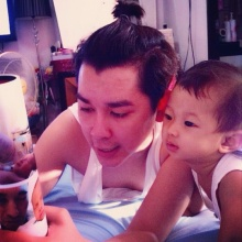 อาร์ต KPN กับลูกสาวตัวน้อย น้องอันนา น่ารักน่าเอ็นดู