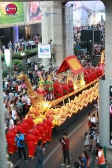 อลังการกับขบวนแห่เปิดการท่องเที่ยววิถีไทย 2558